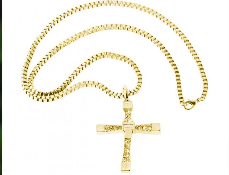 "Pendant ""Cross Toretto"""