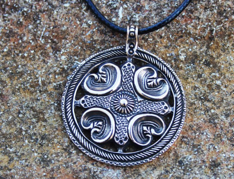 Bronze Pendant - Celtic Shield