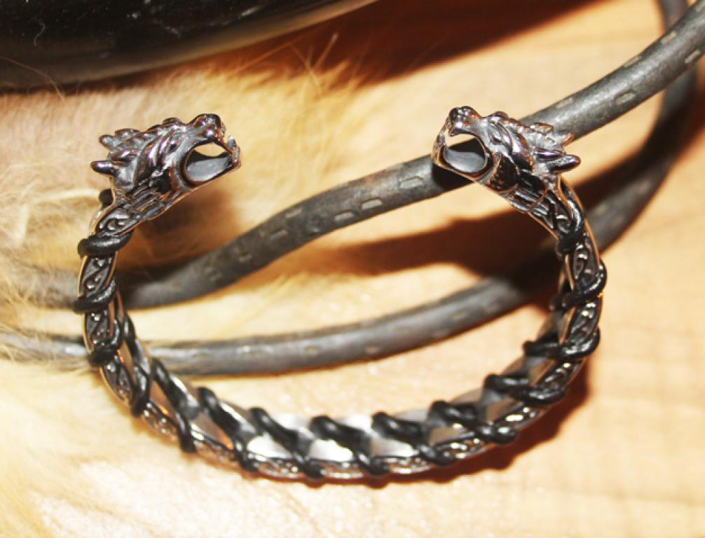 Dragon Stainless Steel Bangle