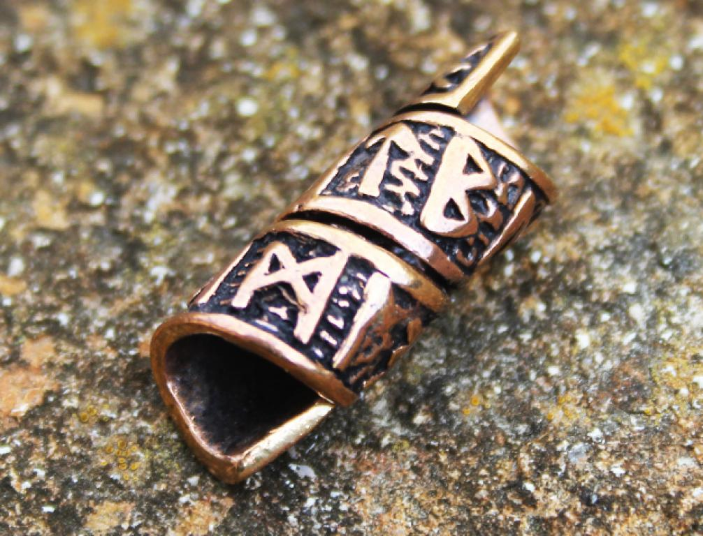 Hair - beard bead runes
